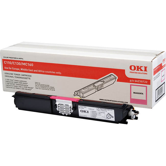 Oki C110 Magenta Laser Toner