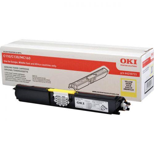 Oki C110 Yellow Laser Toner