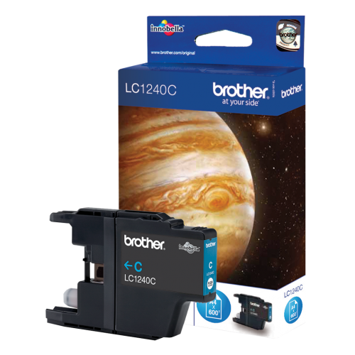 Brother LC1240C Cyan Ink Cartridge