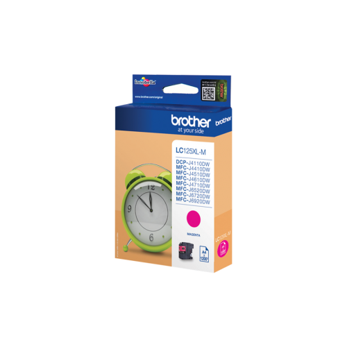 Brother LC125XL Magenta Ink Cartridge