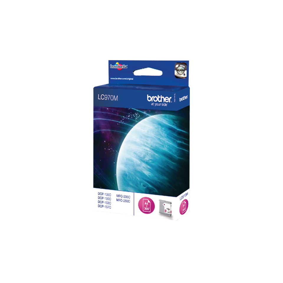 Brother LC970MMagenta Ink Cartridge