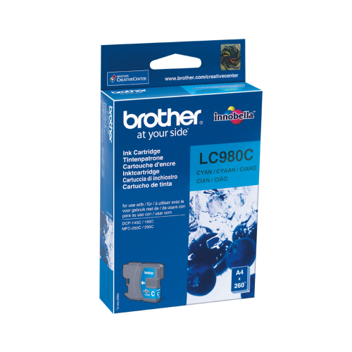 Brother LC980CCyan Ink Cartridge