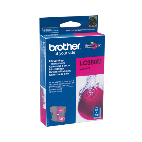 Brother LC980MMagenta Ink Cartridge