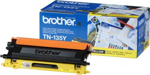 Brother TN-135Y Yellow Laser Toner