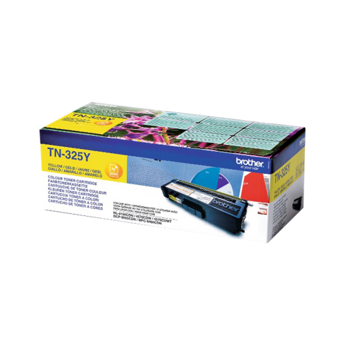 Brother TN-325Y Yellow Laser Toner