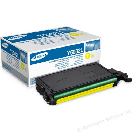 Samsung CLT-Y5082L Laser Toner Cartridge Yellow.