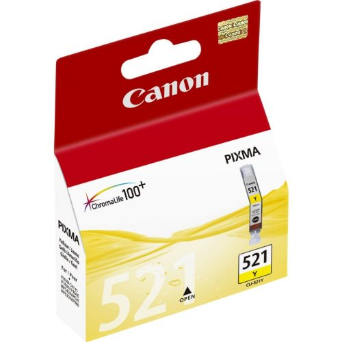 Canon 521Y Yellow Ink Cartridge