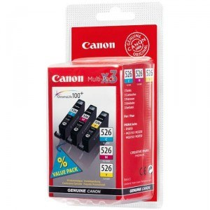 Canon 526 Ink Cartridge Multipack