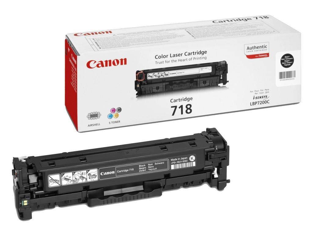 Canon 718 Black Laser Toner