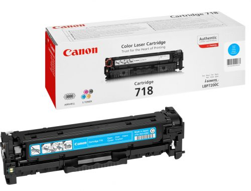 Canon 718C Cyan Laser Toner