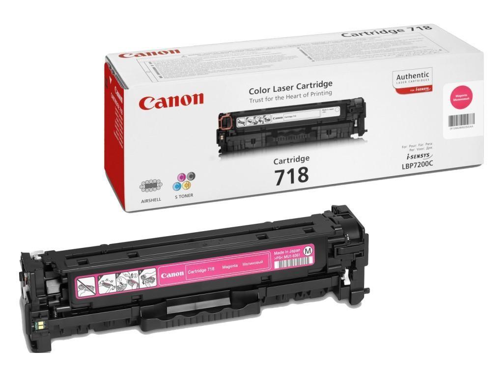 Canon 718M Magenta Laser Toner