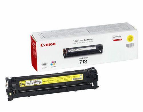 Canon 718Y Yellow Laser Toner
