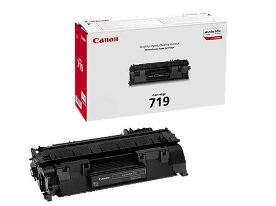 Canon 719BK Black Laser Toner