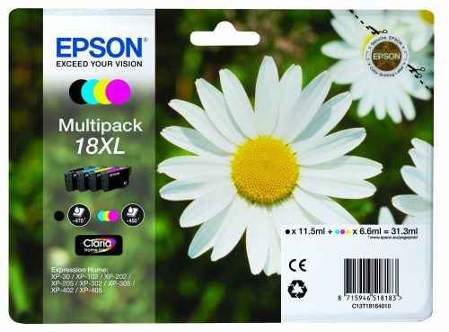 Epson 18XL Multipack Ink Cartridges