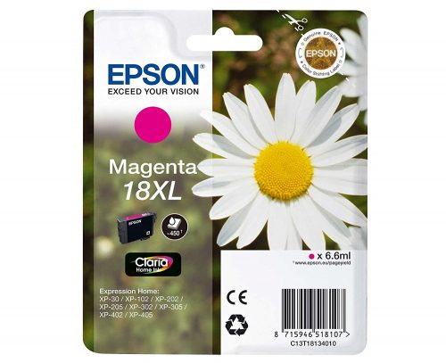 Epson 18XL Magenta Ink Cartridge