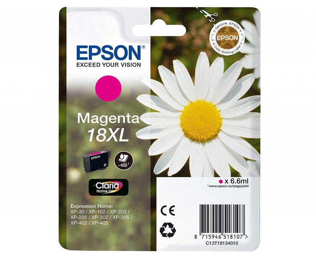 Epson 18XL Magenta Ink Cartridge