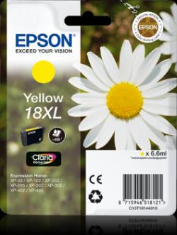 Epson 18XL Yellow Ink Cartridge