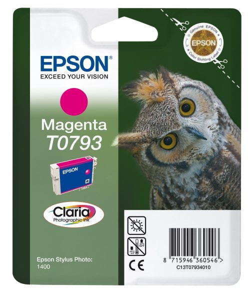 Epson T0793 Magenta Ink Cartridge