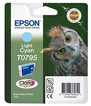 Epson T0795 Light Cyan Ink