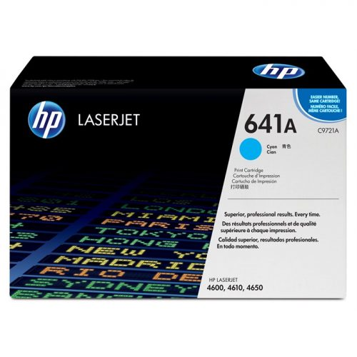 HP C9721A Cyan Laser Toner
