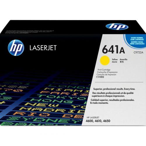 HP C9722A Yellow Laser Toner