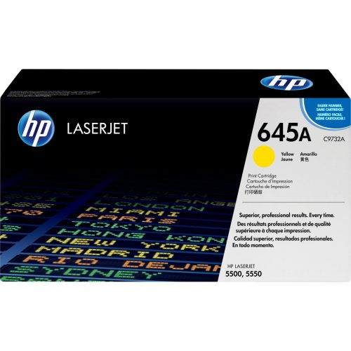 HP C9732A Yellow Laser Toner