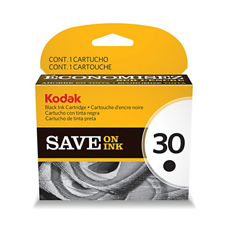 Kodak 30BK Black Ink Cartridge