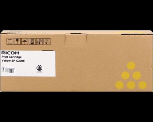 Ricoh Aficio SPC220E Yellow Laser Toner