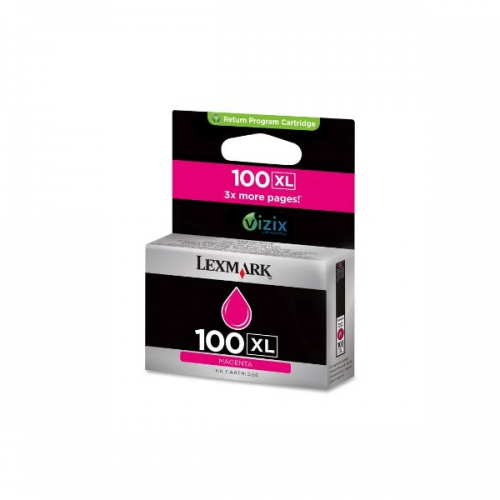 Lexmark 100XL Magenta Ink Cartridge