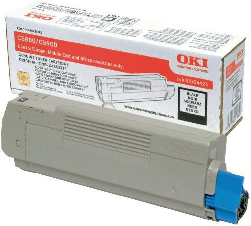 Oki C5800 Black Laser Toner
