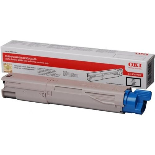 Oki C3300/3400 Black Toner Cartridge