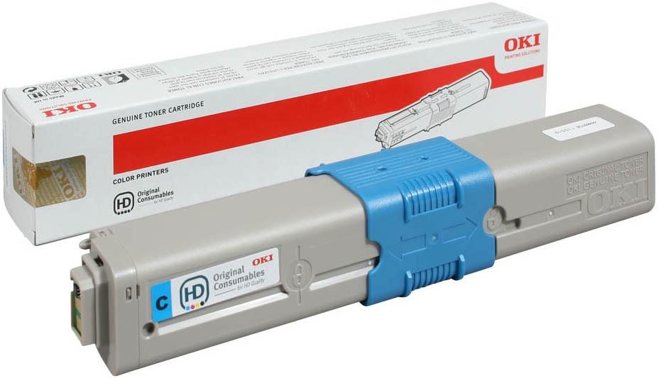 Oki MC562DN Cyan Toner Cartridge