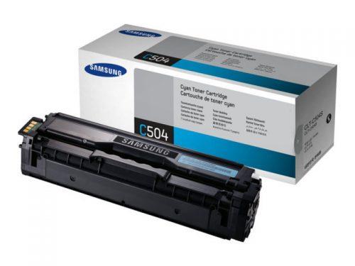 Samsung CLT-C504 Toner Cartridge Cyan