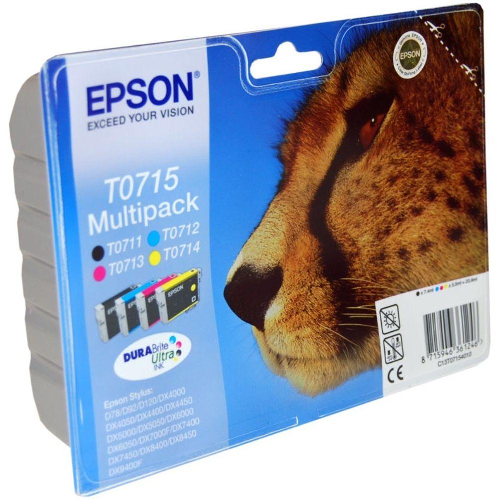 Epson T0715 Multipack Ink Cartridge.