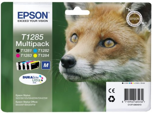 Epson T1285 Ink Cartridge Multipack
