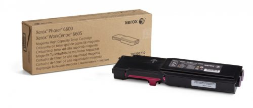 Xerox 6600/6605 High Capacity Magenta Toner