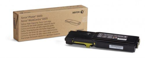 Xerox 6600/6605 High Capacity Yellow Toner