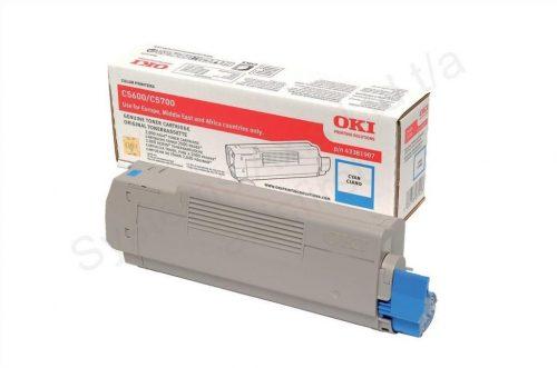 Oki C5600 Cyan Toner Cartridge
