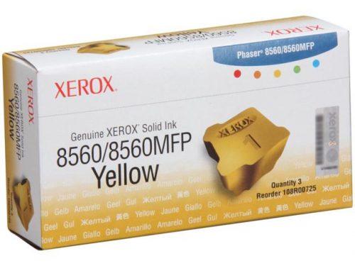 Xerox 8560 Yellow Ink Sticks